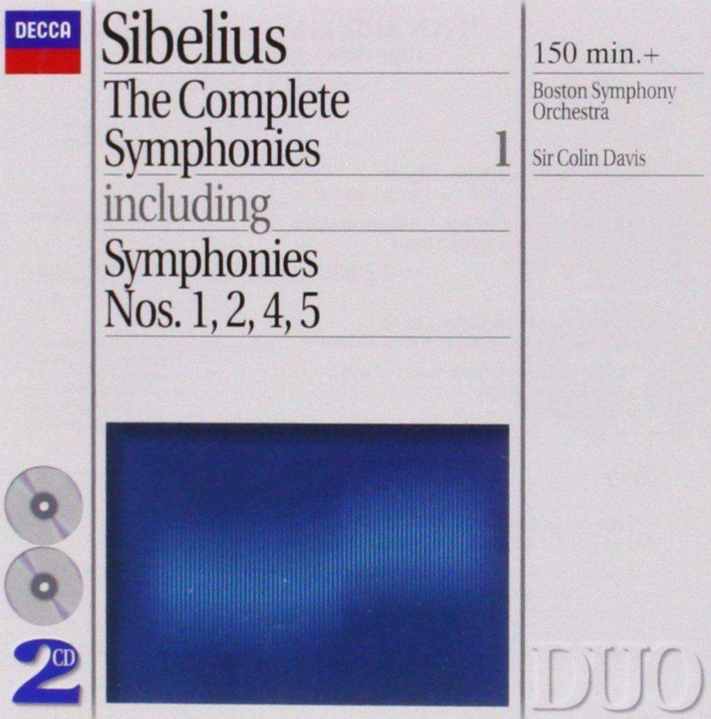 Symphony No. 1 in E minor, Op. 39: Boston Symphony Orchestra / Colin Davis // Decca 4461572 - Recorded 1976