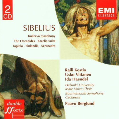 Raili Kostia, Usko Viitanen, Helsinki University Male Voice Choir; Bournemouth Symphony Orchestra / Paavo Berglund // EMI 5742012 - Recorded 1970