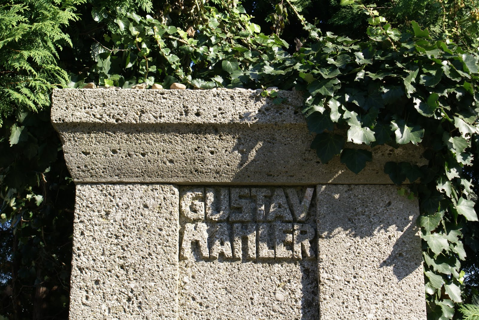 馬勒的墓碑