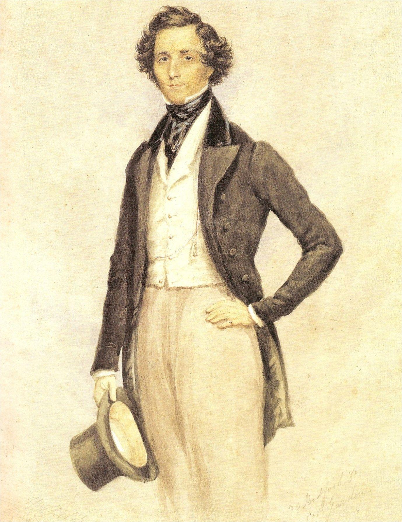 圍繞着孟德爾遜身邊的,盡都是頂尖的思想家和知識份子,他也以卓越的才華,在非常年輕時已寫出成熟的樂章。