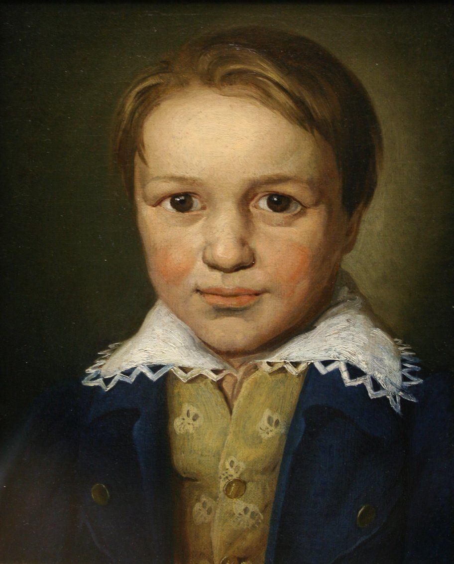 13歲時的貝多芬。他年輕時展露音樂才華,並被介紹到維也納與海頓學習。表面上學習完滿,但內裏卻充滿暗湧。