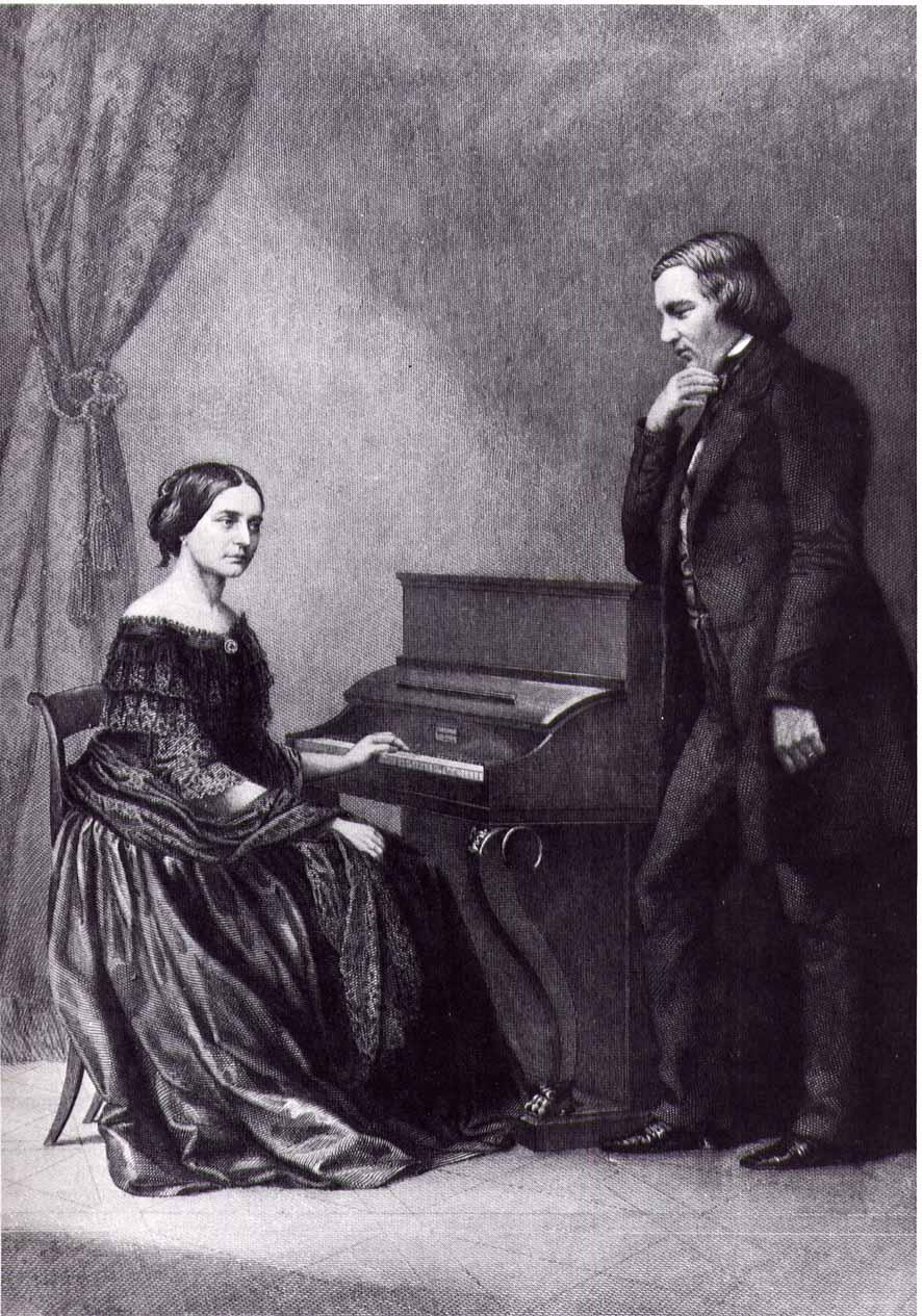 舒曼與克拉拉識於微時,兩人以音樂交流,由情侶到夫婦,音樂都在生活中不可或缺。